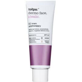 Tołpa Dermo Face Idealic CC крем за уеднаквяване тена на лицето цвят Natural Beige  40 мл.