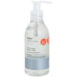 Tołpa Dermo Face Physio żel do mycia do twarzy i okolic oczu  195 ml
