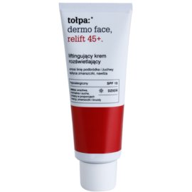 Tołpa Dermo Face Relift 45+ aufhellende Lifting-Creme LSF 15  40 ml