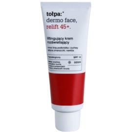 Tołpa Dermo Face Relift 45+ bőrvilágosító liftinges krém SPF 15  40 ml