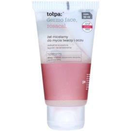 Tołpa Dermo Face Rosacal gel micelar  para rostro y ojos  50 ml