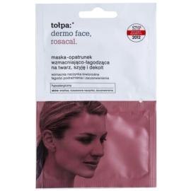 Tołpa Dermo Face Rosacal zklidňující maska pro zarudlou a podrážděnou pleť na obličej, krk a dekolt  2 x 6 ml