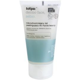 Tołpa Dermo Face Sebio Reinigungsgel  mit Peelingeffekt  50 ml