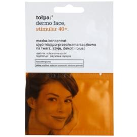 Tołpa Dermo Face Stimular 40+ festigende Maske für schlaffe Haut  2 x 6 ml