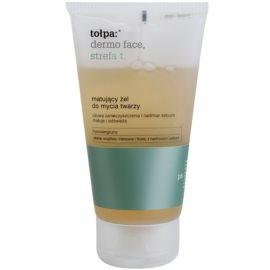 Tołpa Dermo Face T-Zone matující čisticí gel  150 ml