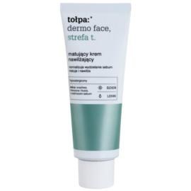 Tołpa Dermo Face T-Zone mattierende Creme mit feuchtigkeitsspendender Wirkung  40 ml