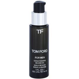 Tom Ford Men Skincare olje za brado z vonjem vanilije in tobaka  30 ml