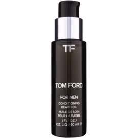 Tom Ford Men Skincare aceite para barba con aroma de flor de azahar  30 ml