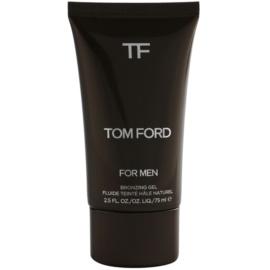Tom Ford Men Skincare samoopaľovací gélový krém na tvár pre prirodzený vzhľad  75 ml
