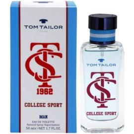 Tom Tailor College sport Eau de Toilette für Herren 50 ml