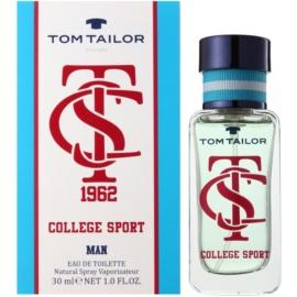 Tom Tailor College sport Eau de Toilette für Herren 30 ml