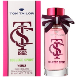 Tom Tailor College sport eau de toilette nőknek 50 ml