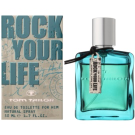 Tom Tailor Rock Your Life For Him Eau de Toilette for Men 50 ml