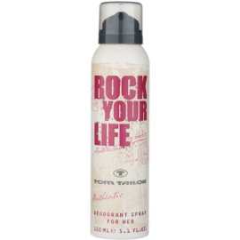 Tom Tailor Rock Your Life For Her deospray pro ženy 150 ml