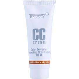 Tommy G CC Cream hydratační CC krém pro smíšenou až mastnou pleť SPF 20 odstín 3 35 ml