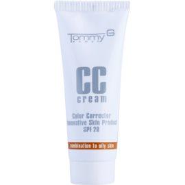 Tommy G CC Cream crema CC hidratante para pieles mixtas y grasas SPF 20 tono 3 35 ml