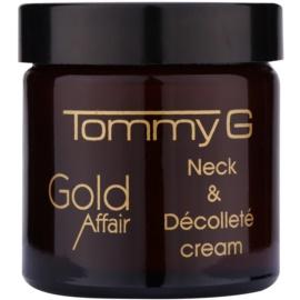 Tommy G Gold Affair verjüngende Creme für Hals und Dekolleté  60 ml