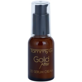 Tommy G Gold Affair kremasti serum za regeneracijo in obnovo kože obraza  30 ml