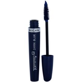 Tommy G Eye Make-Up Super Color řasenka pro objem a zahuštění řas odstín Dark Blue 7 ml