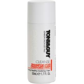 TONI&GUY Cleanse champô para cabelo danificado  50 ml