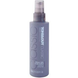 TONI&GUY Classic gel spray pentru parul cret  150 ml