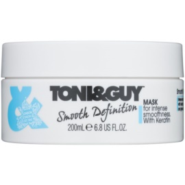 TONI&GUY Smooth Definition máscara alisante com queratina  200 ml
