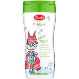 Töpfer KidsCare sprchový gél a šampón 2 v 1  200 ml