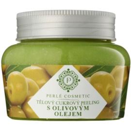 Topvet Body Scrub cukrový peeling s olivovým olejom  200 g