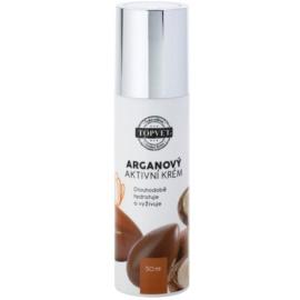 Topvet Face Care vyživující hydratační krém s arganovým olejem  50 ml