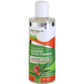 Topvet Hemp Seed Oil regenerační konopné čisticí tonikum 3%  200 ml