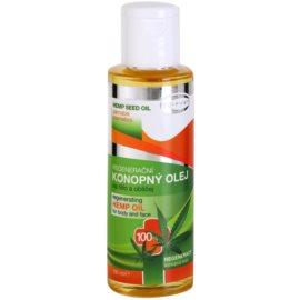 Topvet Hemp Seed Oil konopný olej na telo a tvár  100 ml