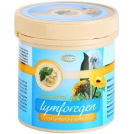 Topvet Lymforegen masažni gel ki pospešuje regeneracijo po povečani telesni aktivnosti  250 ml