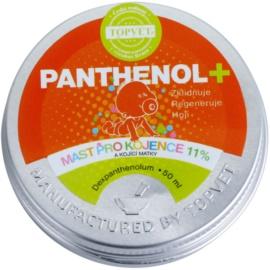 Topvet Panthenol + mast pro kojence a kojící ženy  50 ml