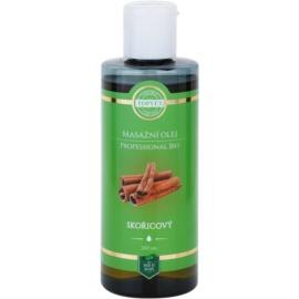 Topvet Professional Bio masážní olej skořice  200 ml