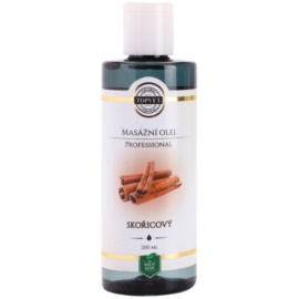 Topvet Professional masážny olej škorica  200 ml