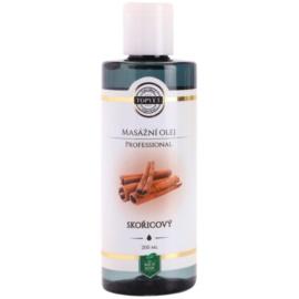 Topvet Professional aceite para masaje canela  200 ml