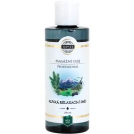 Topvet Professional Relaxing Massage Oil  200 ml