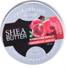 Topvet Shea Butter bambucké máslo s granátovým jablkem  100 ml