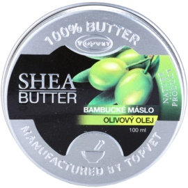 Topvet Shea Butter bambucké máslo s olivovým olejem  100 ml