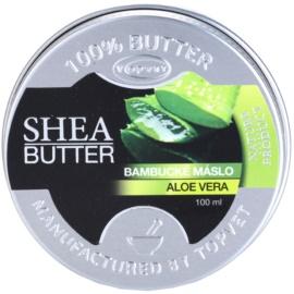 Topvet Shea Butter bambucké maslo s aloe vera  100 ml