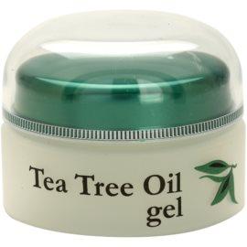 Topvet Tea Tree Oil gel para pele problemática, acne   ml