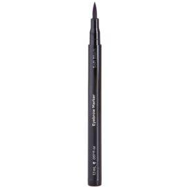 TouchBack BrowMarker fixa k líčení obočí (Soft Black) 1,2 ml