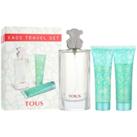 Tous Tous dárková sada VI.  toaletní voda 50 ml + tělové mléko 50 ml + sprchový gel 50 ml