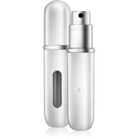 Travalo Classic HD napełnialny flakon z atomizerem unisex 5 ml  odcień Silver