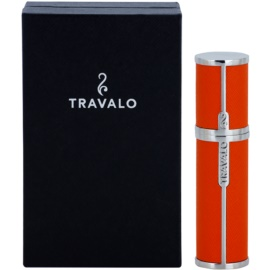 Travalo Milano sticluta reincarcabila cu atomizér unisex 5 ml  Orange