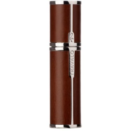 Travalo Milano Case U-change metal case for refillable atomiser unisex    Brown