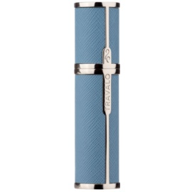 Travalo Milano Case U-change metal case for refillable atomiser unisex    Light Blue