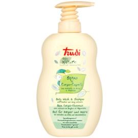 Trudi Baby Nature hipoalergeni otroški losjon za kopel in šampon z izvlečki marjetice in vrese  400 ml