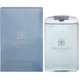 Trussardi Blue Land gel de ducha para hombre 200 ml