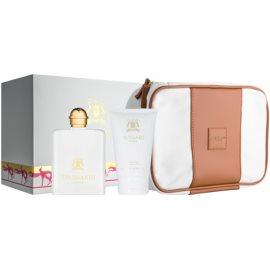 Trussardi Donna 2011 dárková sada III.  parfémovaná voda 100 ml + tělové mléko 100 ml + taška
